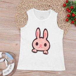 $enCountryForm.capitalKeyWord Australia - Child Kids Shirt Cute Cartoon Animal Infant Boys Girls Tanks Tops Summer Sleeveless Vest Tees Newborn Baby Clothes