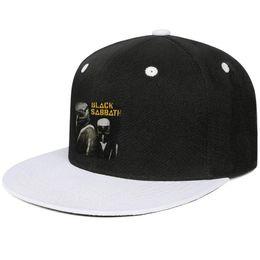 $enCountryForm.capitalKeyWord Australia - Black Sabbath Never Say Die Gas Mask Design Hip-Hop Cap Snapback Flat Bill Brim Baseball Hats Beach Holiday Adjustable