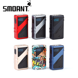 vaping box Canada - Smoant Taggerz 200W TC Box MOD for Smoant Taggerz Atomizer 510 thread MOD e cig mod Vaping Vape