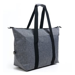 Pack Supplies UK - With Strap Reusable Cooler Bags Multi-Purpose Large Capacity Foldable Ice Pack Portable Outdoor Activities Picnic Supplies