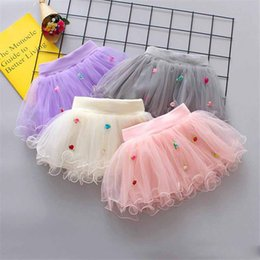 $enCountryForm.capitalKeyWord Australia - INS Designs Little Girls Summer Flowers Gauze Skirt Short Dance Skirt Baby Girls TUTU Skirts Princess Party Wear Lovely Child Clothing