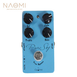 guitar pedal caline NZ - NAOMI Caline CP-12 Pure Sky OD Effect-Guitar Effects Pedal True Bypass Guitar Parts Accessories New