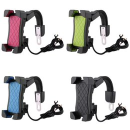 $enCountryForm.capitalKeyWord Australia - obile Phone Holders & Stands Alloet Handlebar Mount Holder Moto USB Charging Adapter Support Bracket Mount Stand for Mobile Phone GPS...