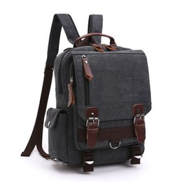 98a04ea15206 good quality Multifunction Mens Canvas Backpack Vintage Rucksack Leisure  Large Capacity School Bags For Teenagers Classic Backpacks