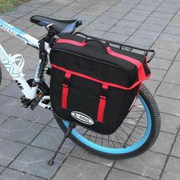 $enCountryForm.capitalKeyWord Australia - B-SOU 50L Cycling Rack Carrier Bags Double Side Mountain Bike Rear Bag Waterproof MTB Road Bicycle Cycling Tail Seat Trunk Bag