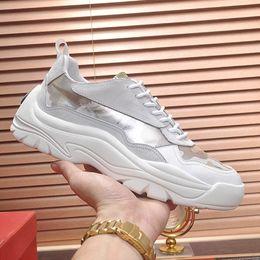 $enCountryForm.capitalKeyWord Australia - Thick Sole Mens Shoes Sneakers Sports Fashion Luxury Men Flats Casual Sneakers Breathable Design Men Shoes Gumboy Calfskin Sneaker Scarpe
