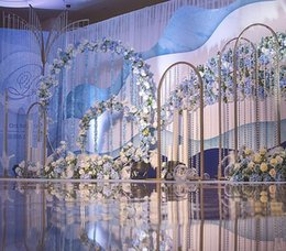 Wholesale Latest Design Wedding Stage Decoration Best Asian Wedding Stage Decor newest Modern marriage Stages Manufacturer best0496