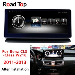 $enCountryForm.capitalKeyWord Australia - 10.25 4G+64G Navigation display for Mercedes Benz CLS Class W218 Car 2011-2014 touch screen GPS stereo dash multimedia player