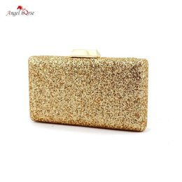 b2b79732ba74 Angel Horse Evening Handbags And Clutches For Women Gold Black Silver Red  Champagne Luxury Shining Chain Handbag Woman Small