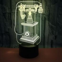$enCountryForm.capitalKeyWord Australia - Hot Originality Gift Restore Ancient Ways Telephone 3d Small Night-light 3d Led Small Night-light Usb 3d Vision Small Desk Lamp