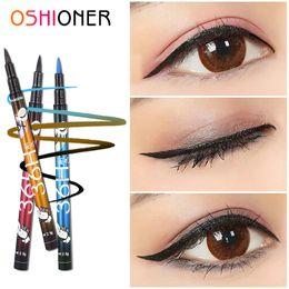 $enCountryForm.capitalKeyWord Australia - OSHIONER 1PC Black 36H Waterproof Eyeliner Pencil Sweat-proof Long-lasting Liquid Eye Liner Pen Pencil Make Up Tool