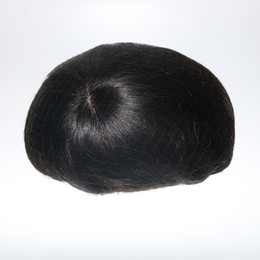 $enCountryForm.capitalKeyWord UK - 100% Human hair Mens Toupee Silk Base With Swiss Lace In Front And Thin Skin At Back Men Toupee Remy Hair Systems Repalcment