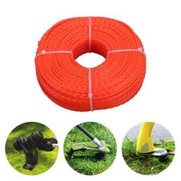 $enCountryForm.capitalKeyWord Australia - 2.4mm 100m Nylon Trimmer Line Lawn Mower Twist Rope Garden Tools Parts