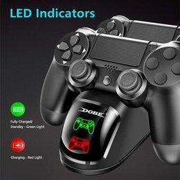 Dual-USB-Griff Schnelles Aufladen Dock Station Stand-Ladegerät für PS4/PS4 Slim/PS4 Pro Spiel Controller Joypad Joystick im Angebot