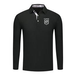 $enCountryForm.capitalKeyWord Australia - 2019 running sports shirt polo long shirt Brand New Fashion Designer High Quality Solid Male Clothing Fit Business Shirts