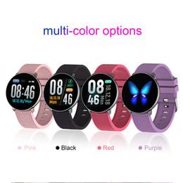 $enCountryForm.capitalKeyWord Australia - 18 Women Fashion Smart Bracelet Blood Pressure Heart Rate Monitor Sport Activity Fitness Tracker Smartwatch GIFT