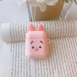 $enCountryForm.capitalKeyWord Australia - YunRT 3D Cartoon pooh Piglet Earphone Headset Accessories Silicone case For Apple Airpods 1 2 Wireless Bluetooth Headset bags