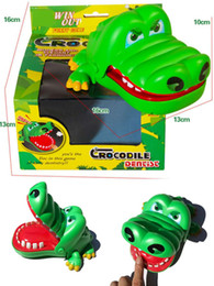 Crocodiles Alligator Toys Australia - Large Size Big Sniper Crocodile Sniper Alligator Whole Maggot Toy Children Innovative Toy Game Plaything Tricky Toys