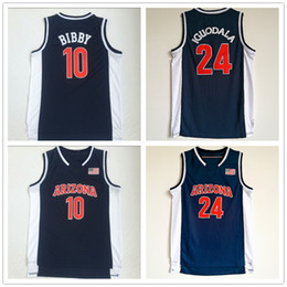 $enCountryForm.capitalKeyWord Australia - NCAA Arizona Wildcats College #24 Andre Iguodala #10 Mike Bibby Basketball Jerseys Blue University Shirts Fans on sales brand T-shirts