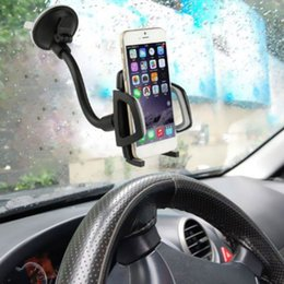 car mobile holder long arm 2019 - Cell Phone Support Long Arm Windshield Mobile Car Mount Bracket Holder For Your Cell Phone Stand For Gps Mp4 discount ca