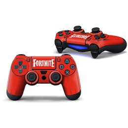 Discount ps4 cover skin - Fortnite Game Sticker PVC For Sony Ps4 Controller Decal Skins For PS4 Gamepad Cover For PS4 Joypad Protector