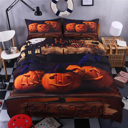 modern beds Canada - Fashion Modern Comforter Cover set Halloween Gifts for Kids Bedding Set King Twin Queen Size for Home Textile of Bedding Set Cover