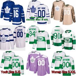 2019 New Third Toronto Maple Leafs Mitch Marner Frederik Andersen Morgan  Rielly Kasperi Kapanen Gardiner Nazem Kadri Patrick Marleau Jersey 11f2ec3d5