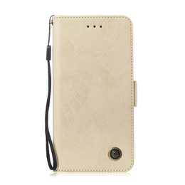 Leather Flip Cases For Iphone Australia - Flip Stand For iPhone X XS XR XS Max Case Pure Retro Leather Cover design Mobile Phone Bags Card slot function