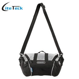 bicycle panniers front UK - Accessories Bags Panniers Roswheel Bicycle Bags Hot Sale Bicycle Frame Front Tube Bag for 4.8 Cell Phone PVC Bike Front