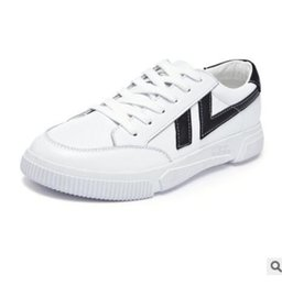 $enCountryForm.capitalKeyWord Australia - Spring 2019 men's board shoes fashion casual Korean version of the trend tie with joker sports small white shoes04