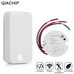 $enCountryForm.capitalKeyWord Australia - QIACHIP Wireless Remote Control Switch Transmitter No Battery and 1 CH RF Relay Receiver ON OFF For Lamps Light Ceiling Lights