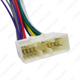 aftermarket stereo harness Australia - wholesale Car Audio Radio Stereo Wiring Harness Adapter For Daewoo Actyon Korando Chevrolet Spark Install Aftermarket CD DVD Stereo#:1494