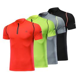 Sportswear T Shirt Badminton Australia - 100% polyester Men Running T-shirt Golf Table Tennis Shirt Badminton Jerseys Shirts Clothes Outdoor Sport Clothing Sportswear
