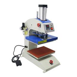 T Shirt Press Machines Australia - Wtsfwf 15*15CM Auto Pneumatic Small Logo Heat Press Printer Logo Heat Press Printer Machine for t shirts cases