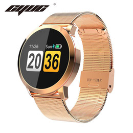 $enCountryForm.capitalKeyWord Australia - CYUC Q8 Smart Watch OLED Color Screen men Fashion Fitness Tracker Heart Rate Blood Pressure Oxygen Smartwatch