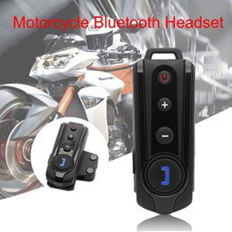 bluetooth headset motorcycle gps Australia - Bluetooth For Motorcycle Helmet Headset Wireless Intercom BT-S2 Walkie-Talkie Supports FM Radio GPS Voice Hands-Free Up