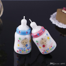 $enCountryForm.capitalKeyWord Australia - Feeding Bottle Candle Cake Decorate Cartoon Happy Birthday Baby Shower Favors One Year Old Party Lovely Hot Sale 3 9sjE1