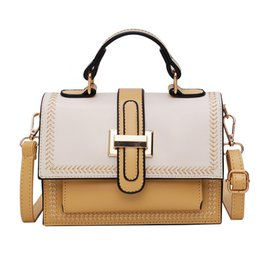 white leather handbags sale UK - 2019 hot sale New Style Zipper Shoulder Bags Leather Designer Handbags High Quality Casual Bags Women Messenger bags Jichuan 7