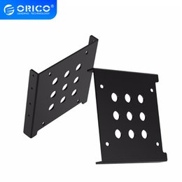 hard drive screws NZ - External Storage HDD Enclosure ORICO AC325-1S Aluminum 2.5 to 3.5 inch Hard Drive Caddy Free Installation Screws Support SATA HDD   SSD