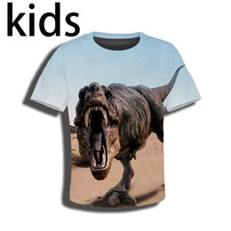 1beea275e0f T-shirt 3D print Men women Anime Jurassic World dinosaur streetwear t shirt  Harajuku KIDS top Children tshirt Short Sleeve E485