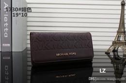 32 colores diseñador de la marca carteras Wristlet mujeres monederos bolsos de embrague Zipper Pu diseño Wristlets 27 colores AAAA0268 en venta