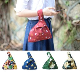 $enCountryForm.capitalKeyWord Australia - Little Paris hand made hand bag reversible women's drawstring Bag mobile phone key student handbag