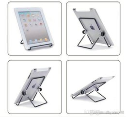 $enCountryForm.capitalKeyWord Australia - best Iron Metal Adjustable Folding Holder Stand For A13 Q88 Android tablet PC smart phone Hotsale free shipping 2019 New