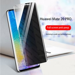 $enCountryForm.capitalKeyWord Australia - For HUAWEI mate20 phone film Screen Protector anti-spy Hydrogel film 3D Full Cover Soft Hydrogel Membrane Privacy support 2PCS delivery