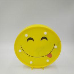 $enCountryForm.capitalKeyWord UK - Lovely Comical Face Emoji LED Lamp Wall Hanging Desk Standing 7 Lights Warm White