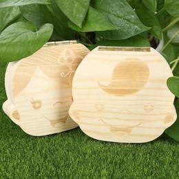 $enCountryForm.capitalKeyWord Australia - Wholesale-Tooth Box Organizer for Baby Save Milk Teeth Boy Girl Image Wood Storage Boxes Creative Gift for Kids Travel Kit
