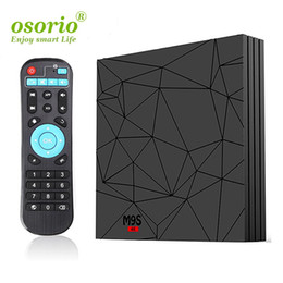 android tv free movie UK - Best Android Tv Box Amlogic s905w M9S W5 2GB 16GB WiFi Lan 4K Free Movies streaming Cutsom Logo television Media Box Better H96 Max Plus