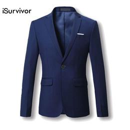 Suit Design Colors Australia - Men Blazer 2018 New Suit Men 5 Colors Casual Jacket Terno Masculino Latest Coat Designs Blazers Men Clothing Plus Size M-6XL