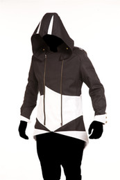 Wholesale costume assassins creed for sale - Group buy Game Long Sleeves Hooded Jacket Assassins Creed Costume Mens Halloween Theme Costume Mens Cospaly Designer