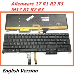Discount alienware laptops - Laptop English Keyboard For Alienware 17 R1 R2 R3 M17 R1 R2 R3 Notebook Replacement layout Keyboard